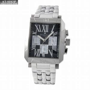 サルバトーレ・マーラ Salvatore Marra SM17117-SSBKSV  メンズ クロノグラフ 腕時計|at-shop