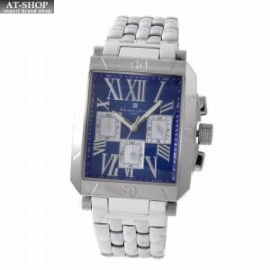 サルバトーレ・マーラ Salvatore Marra SM17117-SSBLSV  メンズ クロノグラフ 腕時計|at-shop