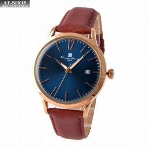 サルバトーレ・マーラ Salvatore Marra SM17116-PGBL  メンズ 腕時計 替えベルト付|at-shop