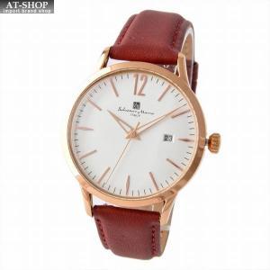 サルバトーレ・マーラ Salvatore Marra SM17116-PGWH  メンズ 腕時計 替えベルト付|at-shop