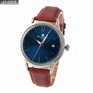 サルバトーレ・マーラ Salvatore Marra SM17116-SSBL  メンズ 腕時計 替えベルト付|at-shop