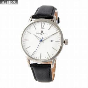 サルバトーレ・マーラ Salvatore Marra SM17116-SSWH  メンズ 腕時計 替えベルト付|at-shop