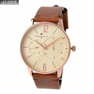 サルバトーレ・マーラ Salvatore Marra SM18105-PGWH  メンズ 腕時計|at-shop