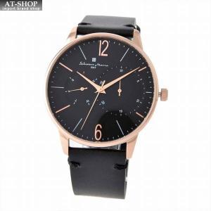サルバトーレ・マーラ Salvatore Marra SM18105-PGBK  メンズ 腕時計|at-shop