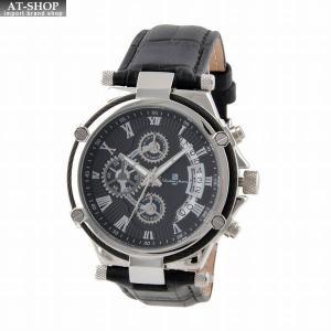 サルバトーレ・マーラ Salvatore Marra SM18102-SSBK  メンズ 腕時計 クロノグラフ|at-shop