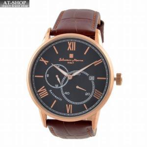 サルバトーレ・マーラ Salvatore Marra SM18104-PGBK  メンズ 腕時計 自動巻き|at-shop