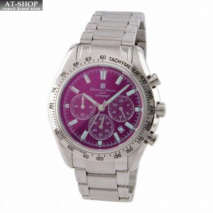 サルバトーレ・マーラ Salvatore Marra SM18106-SSBKSV  メンズ 腕時計 クロノグラフ|at-shop