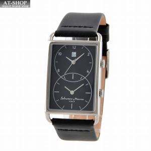 サルバトーレ・マーラ Salvatore Marra SM18108-SSBK  メンズ 腕時計 デュアルタイム|at-shop
