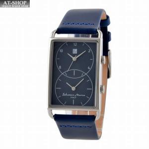 サルバトーレ・マーラ Salvatore Marra SM18108-SSBL  メンズ 腕時計 デュアルタイム|at-shop