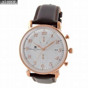 サルバトーレ・マーラ Salvatore Marra SM18109-PGWH  メンズ 腕時計 クロノグラフ|at-shop