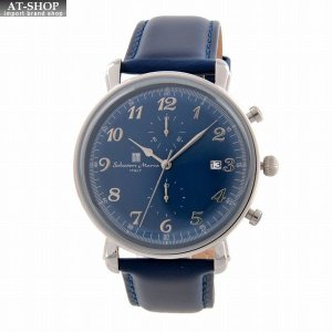 サルバトーレ・マーラ Salvatore Marra SM18109-SSBL  メンズ 腕時計 クロノグラフ|at-shop