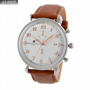 サルバトーレ・マーラ Salvatore Marra SM18109-SSWH  メンズ 腕時計 クロノグラフ|at-shop