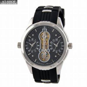 サルバトーレ・マーラ Salvatore Marra SM18113-SSBK  メンズ 腕時計 ツインクォーツ|at-shop