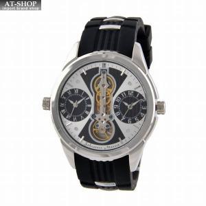 サルバトーレ・マーラ Salvatore Marra SM18113-SSWHBK  メンズ 腕時計 ツインクォーツ|at-shop