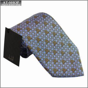 DUNHILL ダンヒル ネクタイ 約8cm ブルー×イエロー yptp 1pd250|at-shop