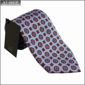DUNHILL ダンヒル ネクタイ 約8cm ブルー yptp1 pm250|at-shop
