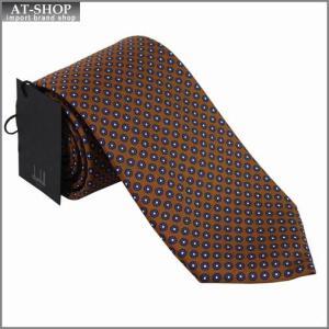 DUNHILL ダンヒル ネクタイ 約8cm ブラウン×パープル yptp1 pw1900r|at-shop