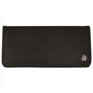 DUNHILL ダンヒル 財布サイフ BOURDON 二つ折り長財布 L2M110Z ダークグレー|at-shop
