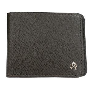 DUNHILL ダンヒル 財布サイフ BOURDON 二つ折り財布(小銭入れ無) L2M130Z ダークグレー|at-shop