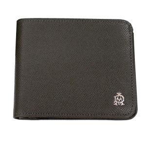 DUNHILL ダンヒル 財布サイフ BOURDON 二つ折り財布(小銭入れ有) L2M132Z ダークグレー|at-shop