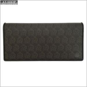 DUNHILL ダンヒル 財布サイフ WINDSOR 二つ折り長財布 L2N710B ブラウン|at-shop