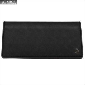 DUNHILL ダンヒル 財布サイフ WINDSOR 二つ折り長財布 L2PA10A ブラック|at-shop