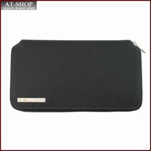 Cartier カルティエ 財布サイフ サントスライン ラウンドファスナー長財布 L3000942 ブラック|at-shop
