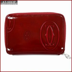 Cartier カルティエ 財布サイフ ハッピーバースデー ファスナー財布 L3001288 レッド|at-shop