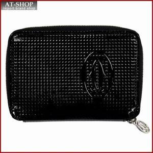 Cartier カルティエ 財布サイフ ハッピーバースデー ファスナー財布 L3001289 ブラック|at-shop
