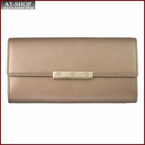 Cartier カルティエ 財布サイフ LOVE ラブライン 二つ折り長財布 L3001374 シャンパンゴールド