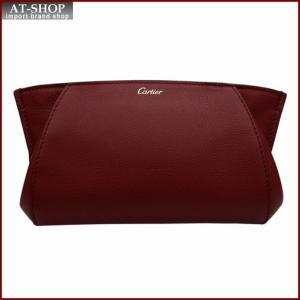 Cartier カルティエ Cartier C DE Cartier クラッチバッグ L3001479 レッド|at-shop