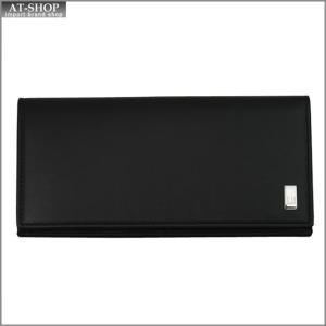 DUNHILL ダンヒル 財布サイフ SIDECAR 二つ折り長財布 QD1010A ブラック|at-shop