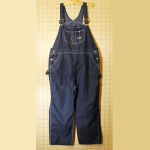 ビッグサイズ Sears シアーズ TOUGHSKINS デニム オーバーオール ブルー W48 ワーク ペインターパンツ 古着 091319aw102 ataco-garage