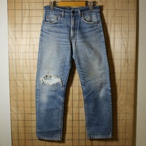 Levis USA製古着リーバイス505テーパードデニムパンツ レギュラージーンズ サイズW30L34 de-p-58|ataco-garage
