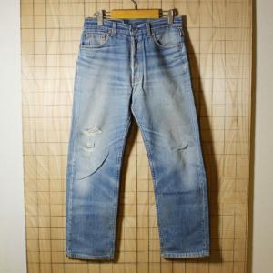 Levis USA製古着リーバイス501デニムパンツ レギュラージーンズ サイズW30L32 de-p-60|ataco-garage