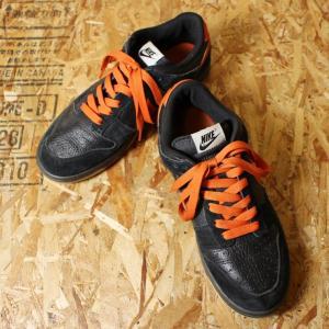 NIKE ダンク Dunk Low スニーカー USED ブラック オレンジ バスケット シューズ 28cm|ataco-garage