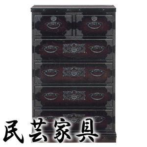 民芸家具 民芸大和 和モダン 時代箪笥 日本製完成品 ハイチェスト60|atarashi