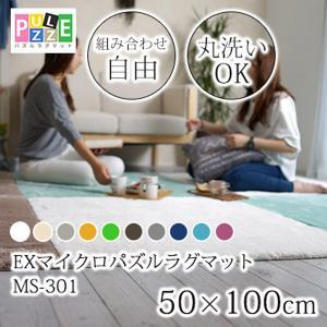 EXマイクロパズルラグマット50×100cm MS301|atarashi