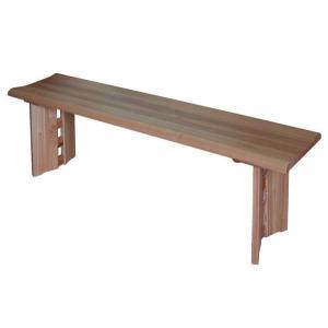 ダイニングベンチ130 和 なごみ 長椅子長いす 天然木タモ無垢材 和風bench|atarashi