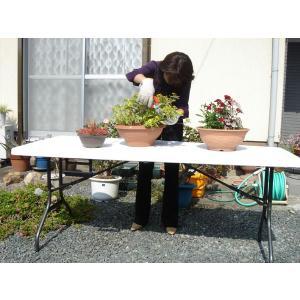 大型折りたたみ式テーブル 183×75 持ち運びできる|atarashi|04