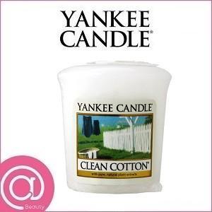 YANKEE CANDLE ヤンキーキャンドル サンプラー クリーンコットンの商品画像 ナビ