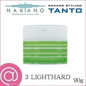 中野製薬 ナカノ スタイリング タント N ワックス 3 90g ライトハード