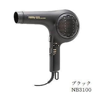 Nobby ノビー マイナスイオン ヘアー ドライヤー NB3100 ブラック