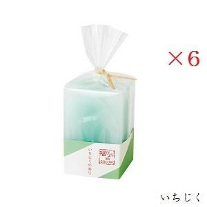 (×6セット)福びより和ごころキャンドル いちじく BA4730510