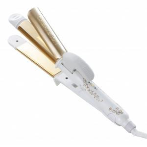 クレイツイオン グレイス クレバーII 32mm SSC-W32W (2way カールアイロン ストレートアイロン)|atbijin