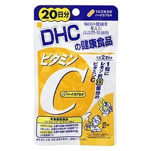 DHC サプリメント ビタミンC (ハードカプセル) 20日分|atbijin