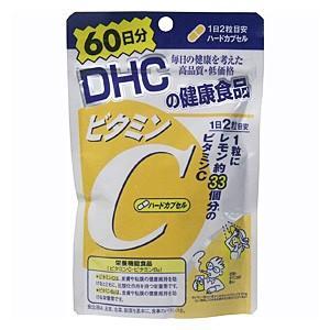 DHC サプリメント ビタミンC (ハードカプセル) 60日分|atbijin