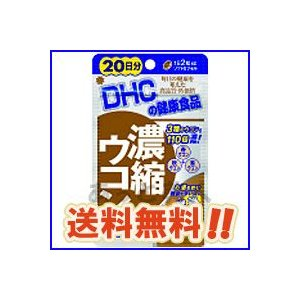 DHC サプリメント 濃縮ウコン 20日分 メール便(ネコポス)送料無料 atbijin