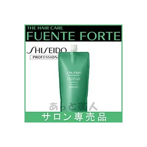資生堂 フェンテフォルテ シャンプー(ピュリファイング) 450mL 詰め替え レフィル 脂性頭皮ケアシャンプー|atbijin