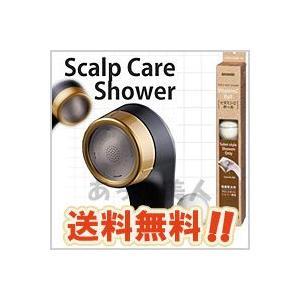 アラミック 節水シャワーヘッド サロンスタイル スカルプケアシャワー SSC-24N ブラック + ビタミンCボール 6個入り セット|atbijin